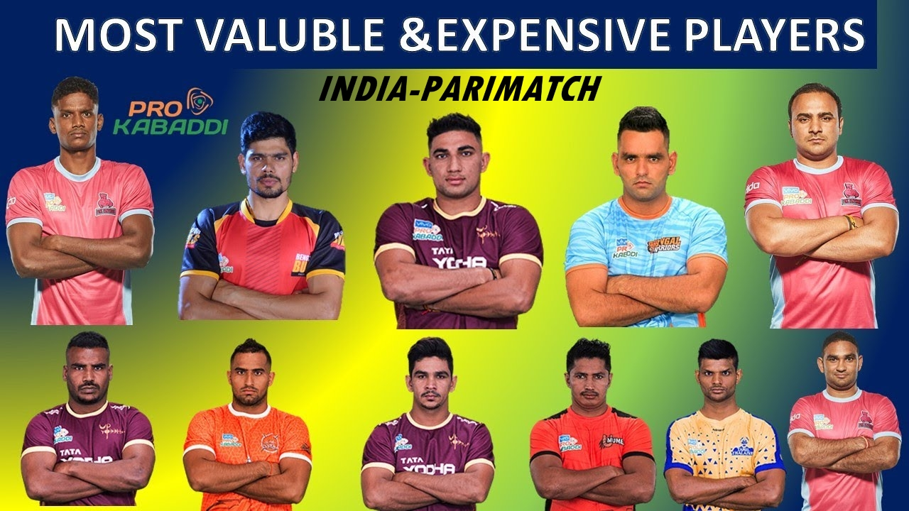 Auction of Players in Pro Kabaddi League