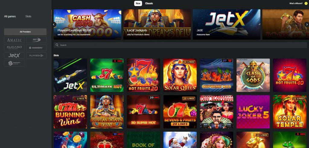 New online casino