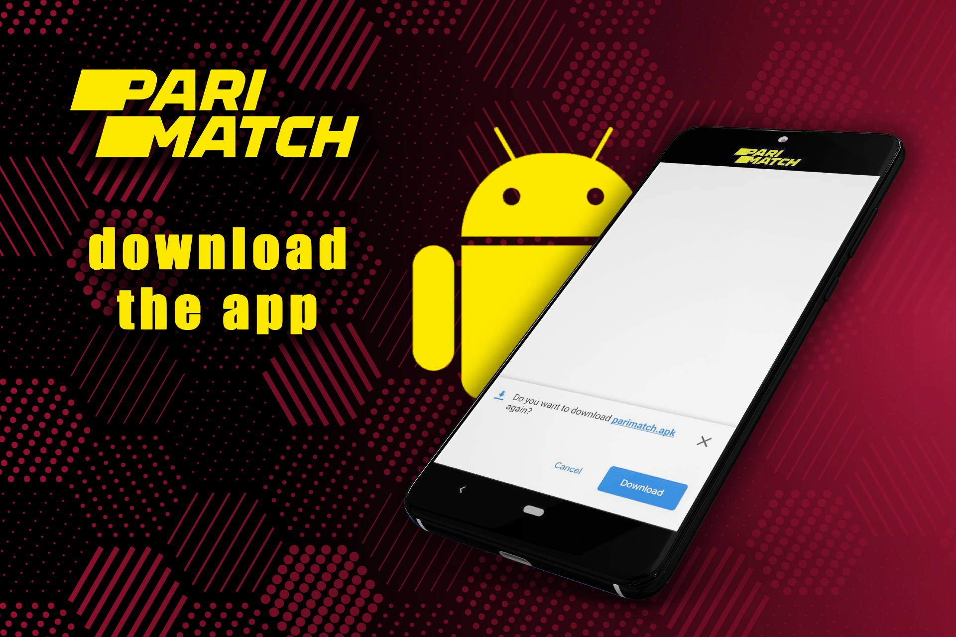 Download the *.apk file to your smartphone.