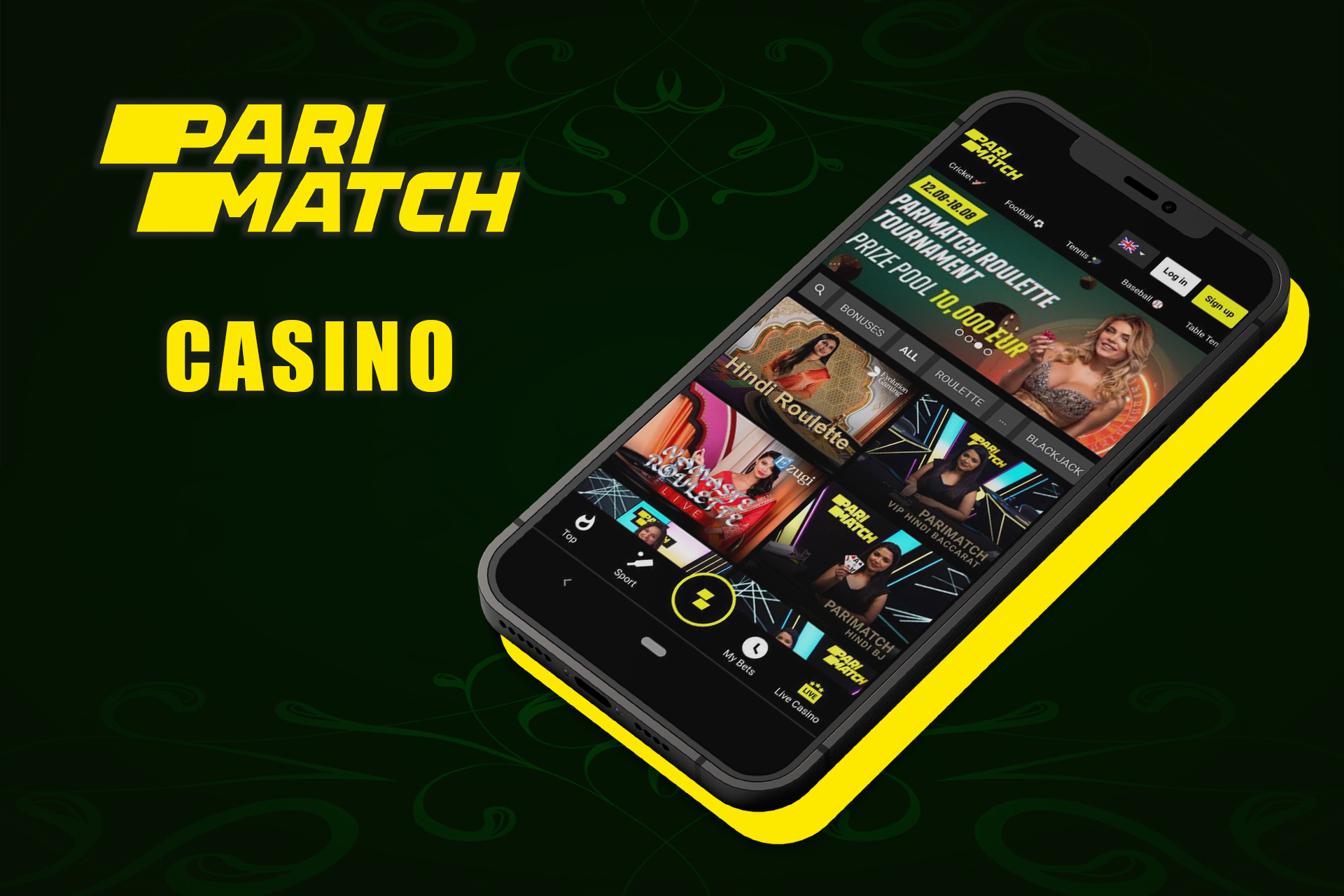If you are a fan of casino games visit the special section.