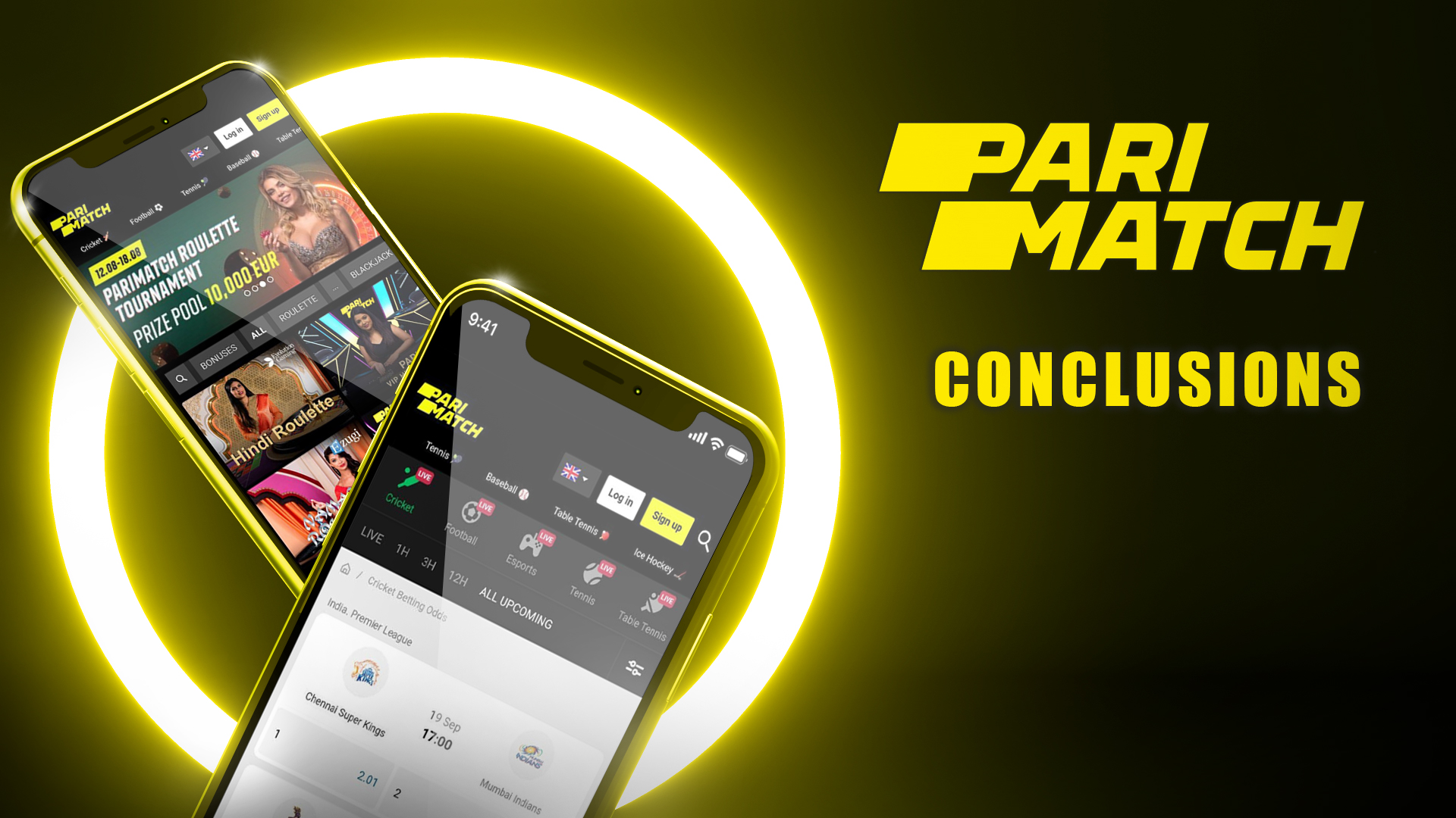 The PariMatch team developed a great mobile app for iOS and Android with lots of functions and features.