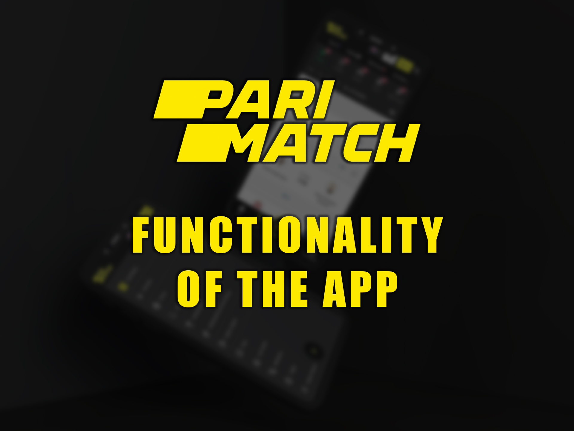 Download the app to feel how its functions simplify betting and following the matches.