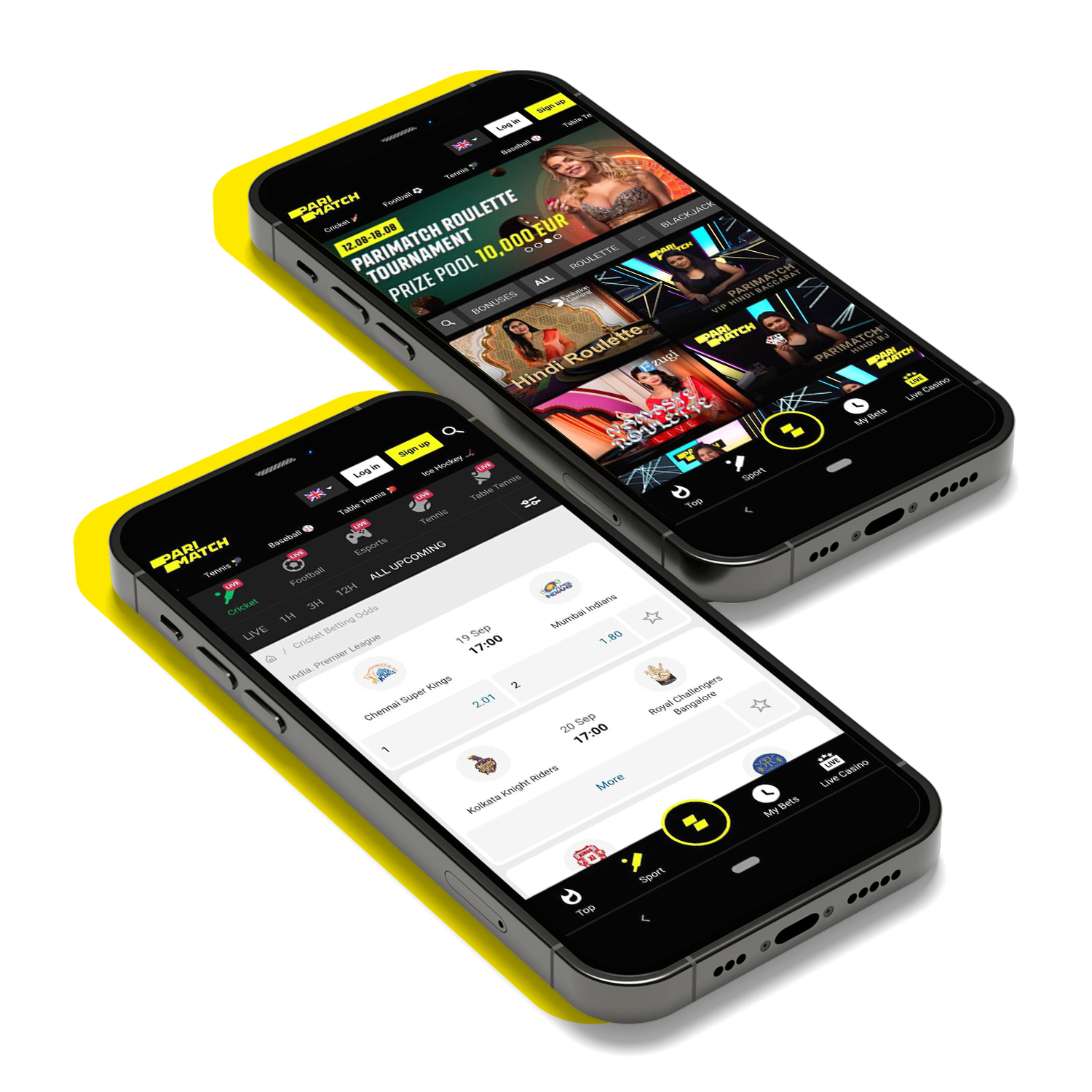 Learn how to download and install the Parimatch mobile app for Android and iOS.