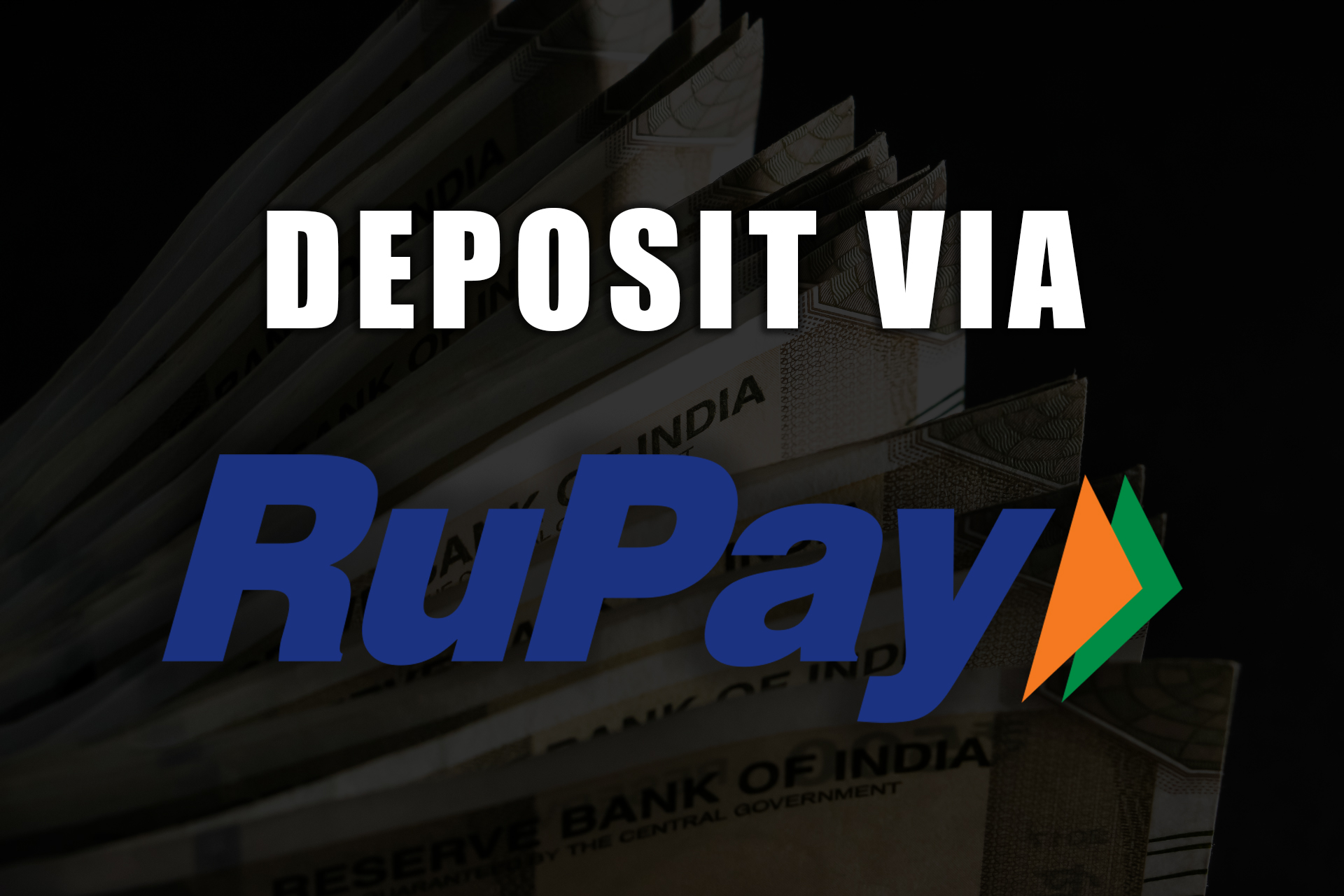 RuPay's card can be used at Parimatch as well.