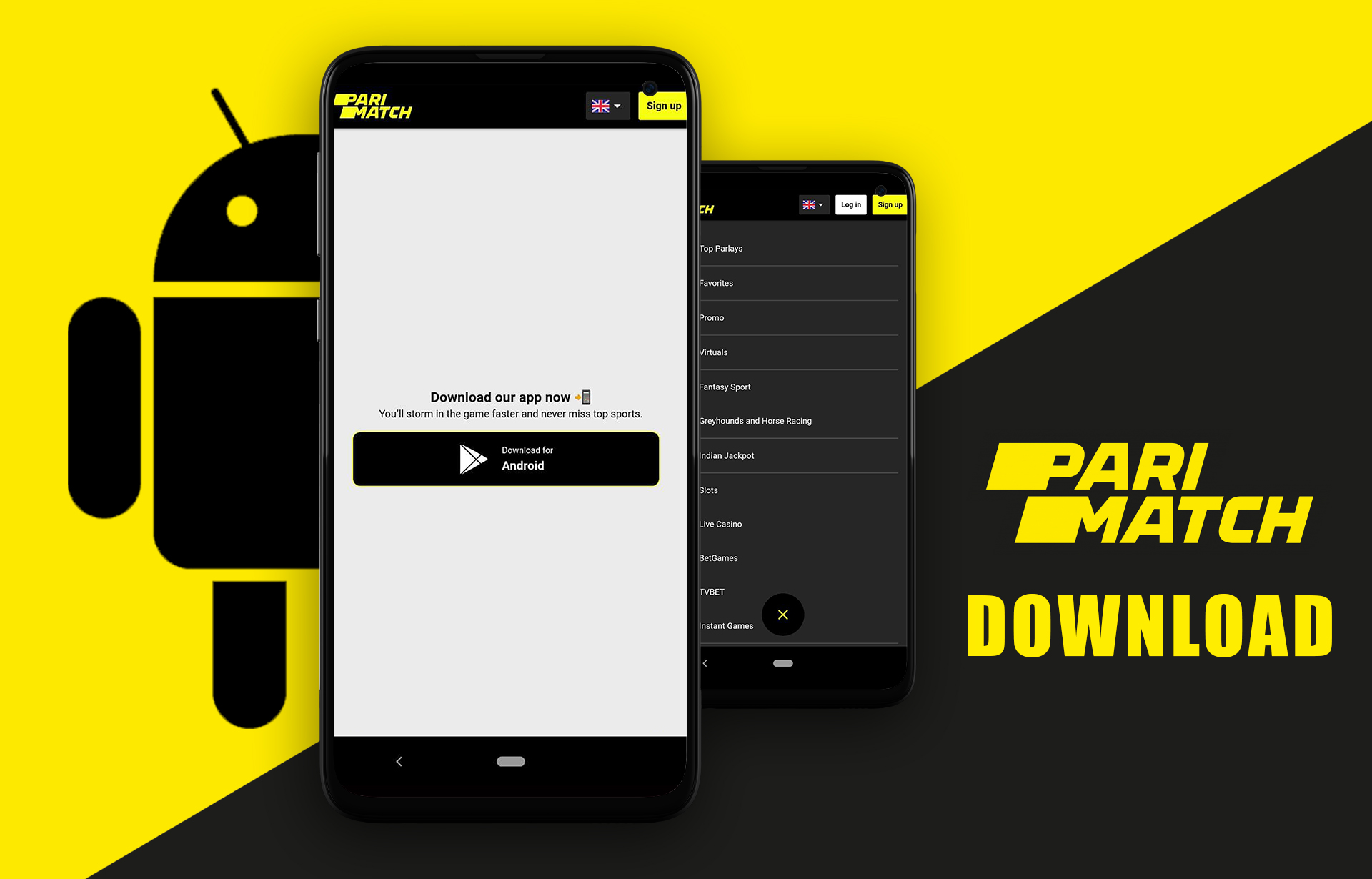 Find the app page and download the application.
