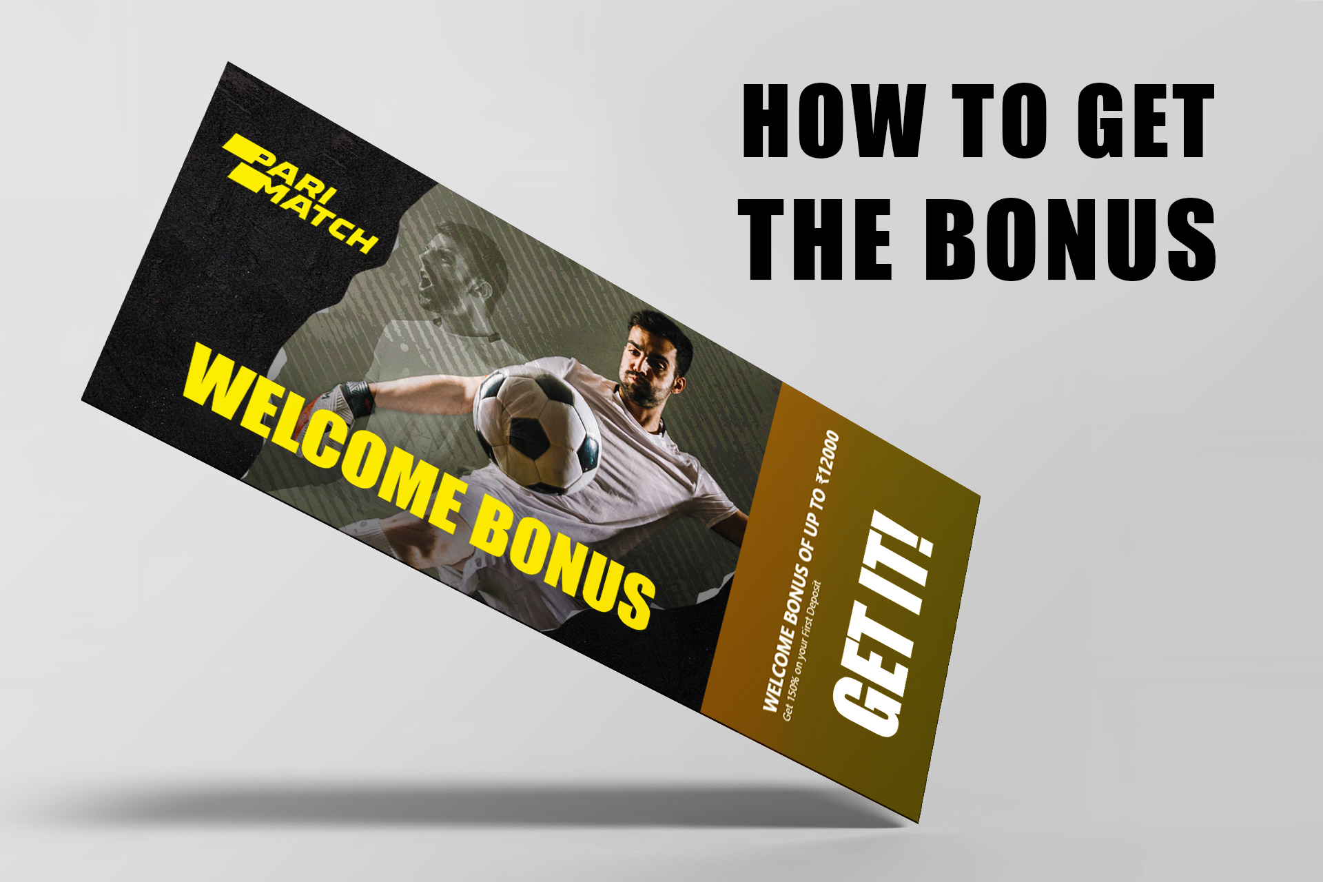 Don't forget to get the welcome bonus from the bookmaker.