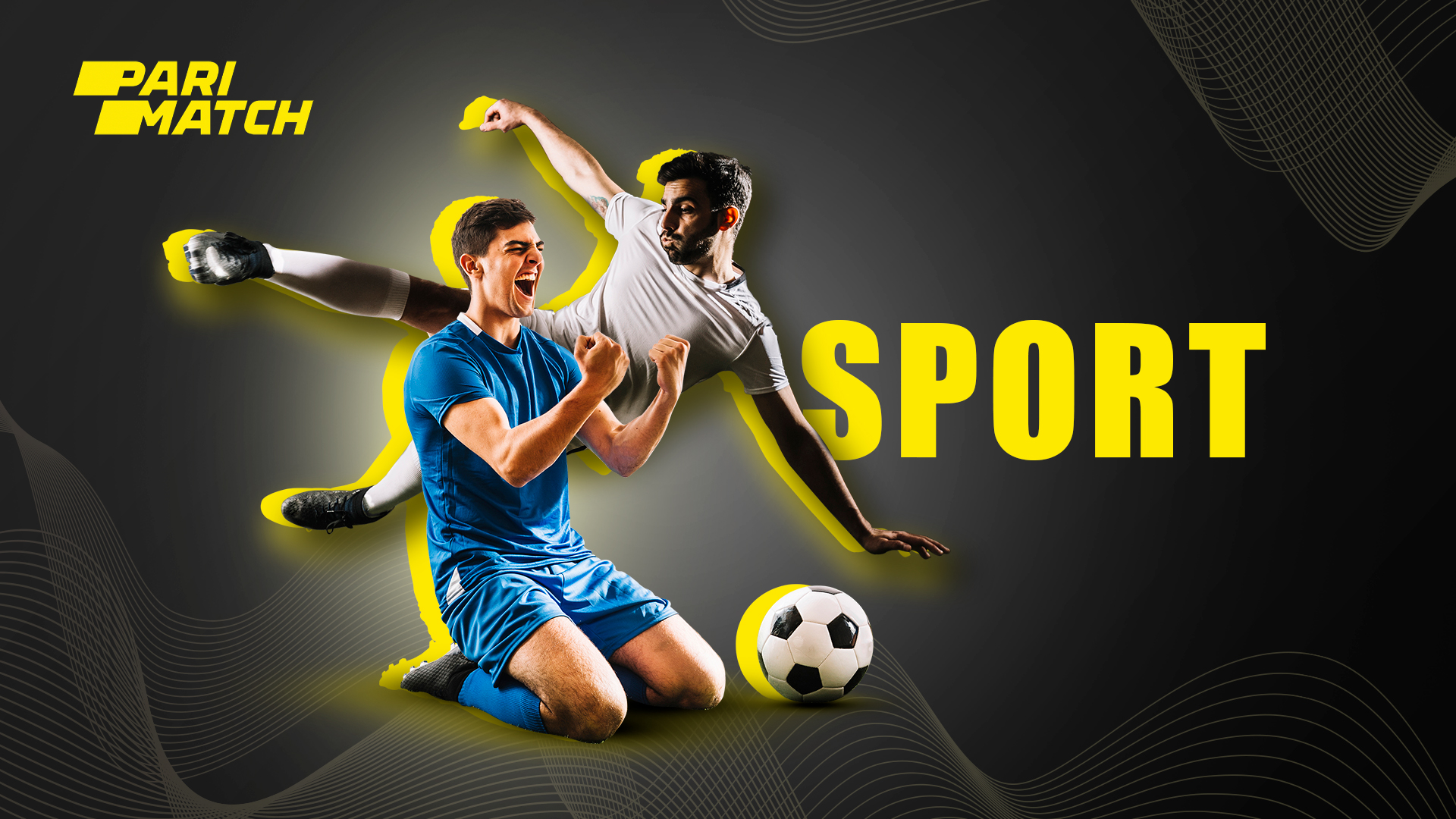 You can choose any sport type for betting presented in the line.