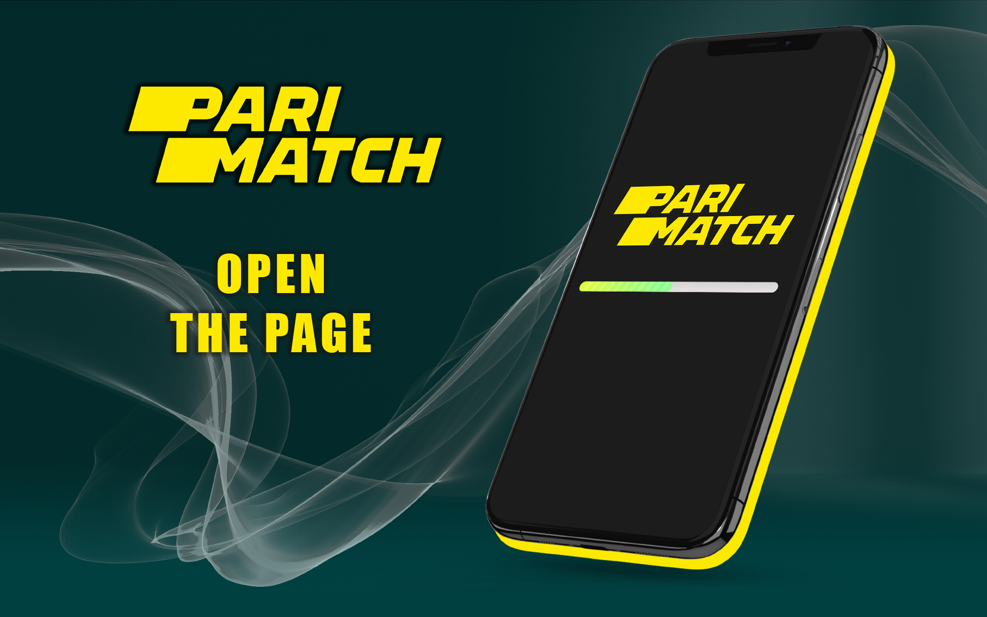 Go to the site of Parimatch India in your mobile browser.