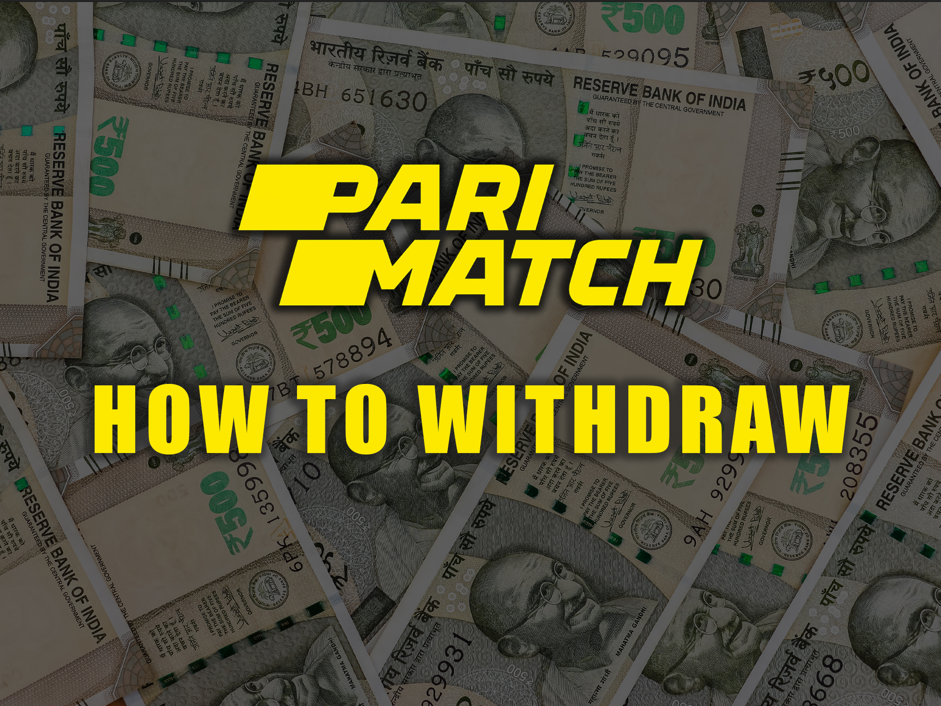 After your first wins, you can withdraw funds from the Parimatch betting account.